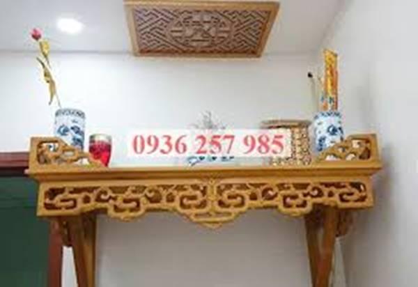 Cách lựa chọn bàn thờ treo tường hiện đại, hợp phong thủy