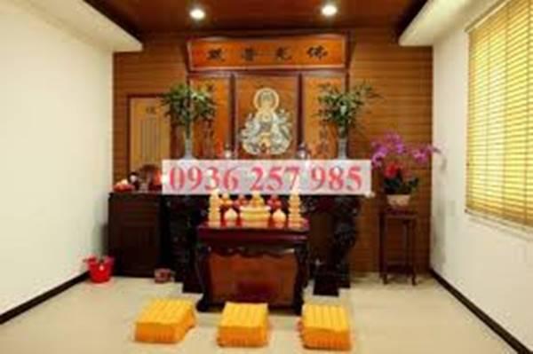 Những chú ý không thể bỏ qua khi thờ cúng và bài trí tượng Phật tại gia-1