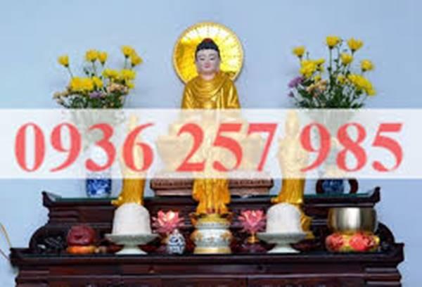 Những chú ý không thể bỏ qua khi thờ cúng và bài trí tượng Phật tại gia