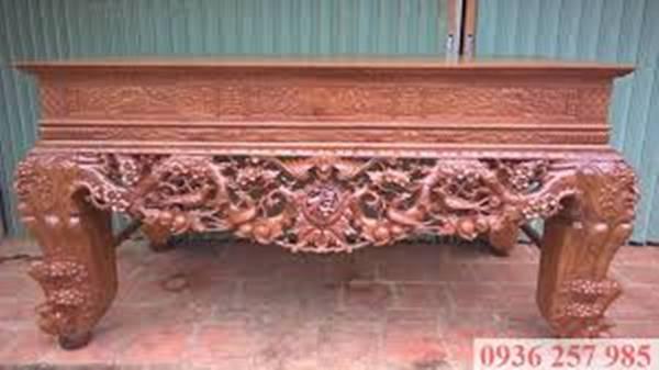 Những mẫu sập thờ gỗ đẹp của làng nghề Sơn Đồng-2