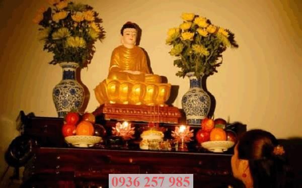 Cách bài trí bàn thờ Phật đem lại may mắn cho gia chủ